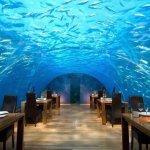 """مطعم """"أثا أندر سيه"""" المالديف"""
