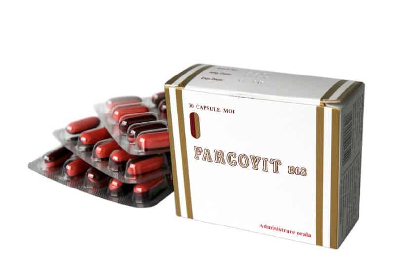 كبسولات فاركوفيت ب12 منشط للكبد آمن ورخيص
