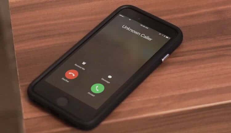 unknow caller no caller id المكالمات المزعجة